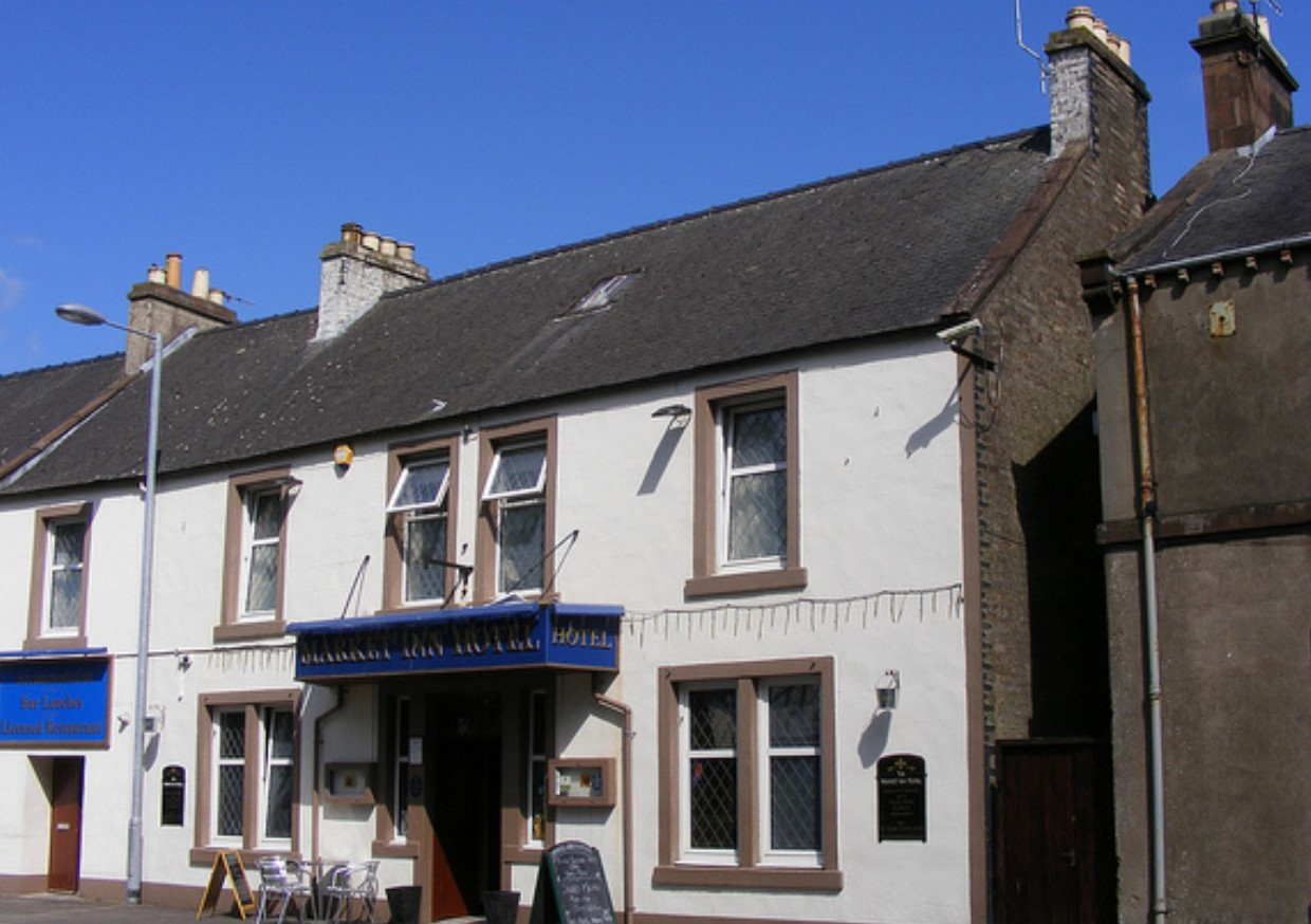 The Market Inn Hotel, Queen Street, Castle Douglas, UK